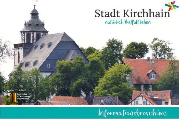 Informationsbroschüre der Stadt Kirchhain online